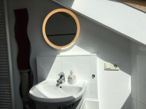 Ein Badezimmer in der Unterkunft FeWo im Herzen Heidelbergs