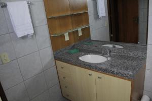 A bathroom at Portugal Flat