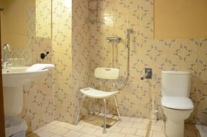Un baño de Hotel Rural Casas de Don Adame