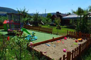 Children's play area at Casa Candea Sighisoara