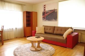 A seating area at Klara Apartment