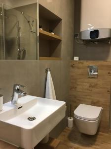 Łazienka w obiekcie Apartament Perla Zakopane