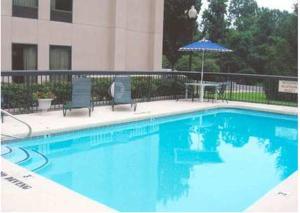 The swimming pool at or near Hampton Inn Jonesville/Elkin