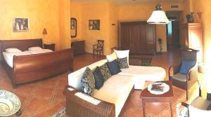 Zona de estar de Hotel Villa Lehmi