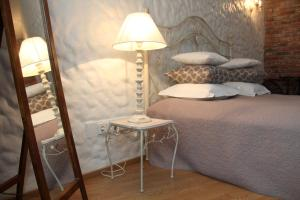A bed or beds in a room at Positively Inspiring for 2