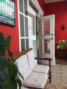 Uma área de estar em Apolonia Boutique Hotel Curaçao