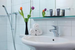 A bathroom at Hapimag Ferienwohnungen Interlaken