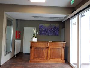 The lobby or reception area at Garni Hotel Lavendelhof