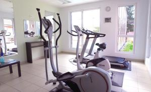 The fitness center and/or fitness facilities at VVF Villages « La Plaine d'Alsace » Obernai