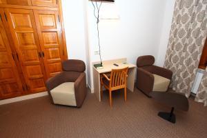 Zona de estar de Hotel Monasterio de Leyre