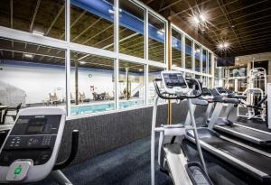 The fitness center and/or fitness facilities at Days Inn by Wyndham Penn State