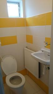 Koupelna v ubytování Chalupa Maruška