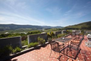A balcony or terrace at Castillo de Arteaga