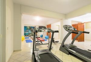 The fitness center and/or fitness facilities at Karras Hotel