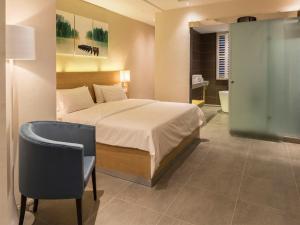 Cama o camas de una habitación en Pereybere Hotel & Spa