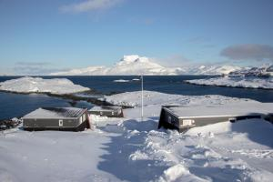 Inuk Hostels during the winter