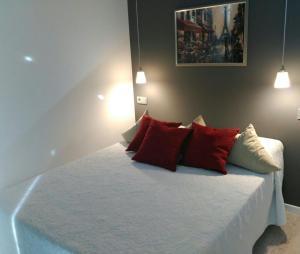 Cama o camas de una habitación en Calima