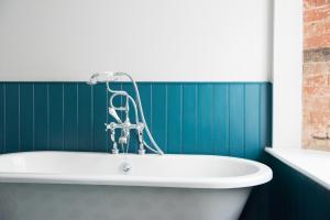 A bathroom at Helen Browning's Royal Oak