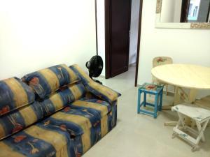 Uma área de estar em Apartamento Guadalajara