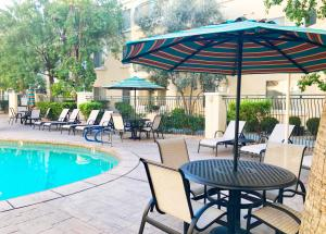 The swimming pool at or near Club de Soleil All-Suite Resort