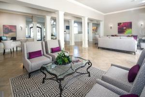 The lobby or reception area at Club de Soleil All-Suite Resort