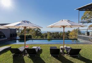 The swimming pool at or near Spicers Sangoma Retreat
