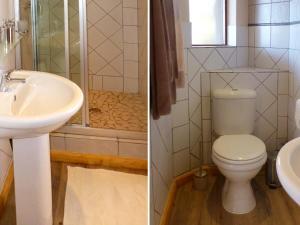 A bathroom at Panorama Lodge