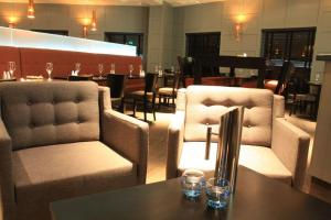 The lounge or bar area at The Lerwick Hotel