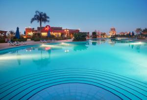 The swimming pool at or near Porto Sokhna Beach Resort