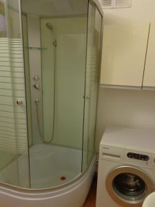 Ванная комната в Apartments on Fedora Abramova 16