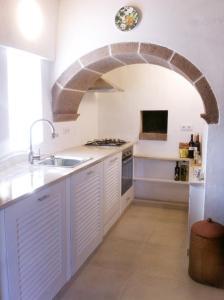 A cozinha ou cozinha compacta de Casa Marquesa