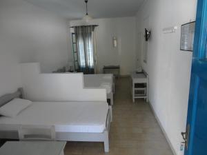 Кът за сядане в Lianos Hotel Apartments