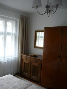 A bed or beds in a room at Ubytování Jelínková