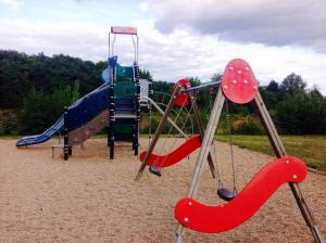Children's play area at Satgui