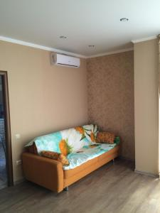 Кровать или кровати в номере Apartment on Lenina