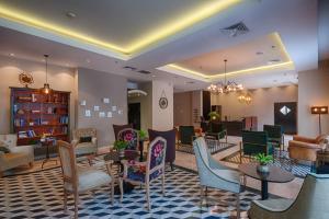מסעדה או מקום אחר לאכול בו ב-מלון אלדן