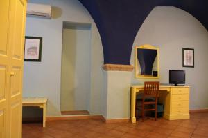 TV o dispositivi per l'intrattenimento presso Sa Balza Guest House