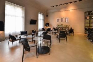 Restauracja lub miejsce do jedzenia w obiekcie Hotel Biała Sala