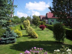 Zahrada ubytování Apartmán Vysočina