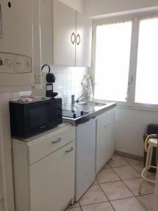 A kitchen or kitchenette at Residence les Goelands