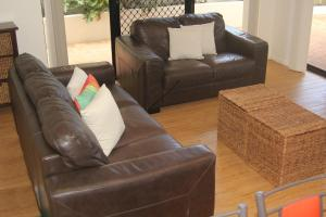"A seating area at ""The Apartments"" Kings Beach Surfside"