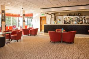 The lounge or bar area at Marks Tey Hotel Sure Hotel Collection by Best Western