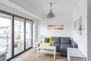 Część wypoczynkowa w obiekcie Apartamenty Bałtyckie - Bulwar Portowy