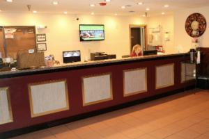 The lobby or reception area at Longhorn Boulder Highway