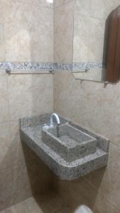 A bathroom at Hotel Dom Daniel