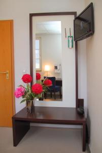 Lobby/Rezeption in der Unterkunft Hotel & Restaurant Müritzterrasse