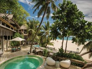 The swimming pool at or near North Island, a Luxury Collection Resort, Seychelles