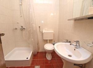 A bathroom at Apartments Dubravka 1315