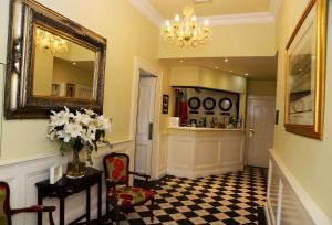 The lobby or reception area at Gabriel House Guesthouse