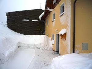 Apartmány Cestář Boží Dar during the winter